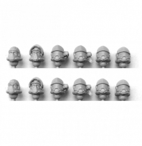 MARTIAN ORBITAL FUSILIERS HEADS