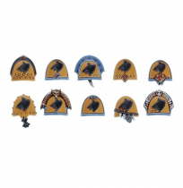 SPACE WOLVES UPGRADE PACK SHOULDER PADS