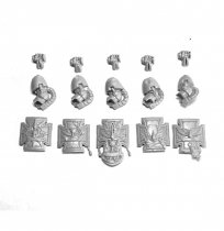 BLOOD ANGELS TERMINATOR ASSAULT SQUAD SHIELDS