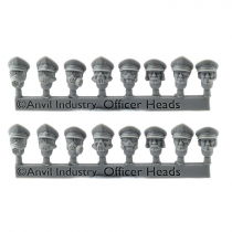 TRENCH OFFICER HEADS (16)