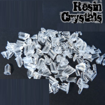 RESIN CRYSTALS TRANSPARENT