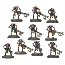 NECRON WARRIORS WITH GAUSS FLAYER