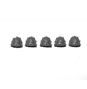 WORLD EATERS LEGION RAMPAGER SQUAD SHOULDER PADS