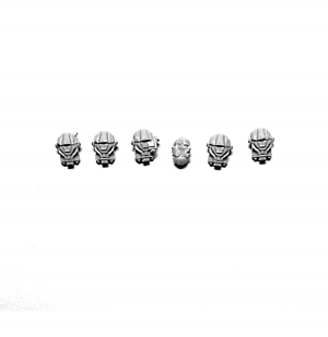 SPACE MARINE TERMINATOR CLOSE COMBAT SQUAD HEADS