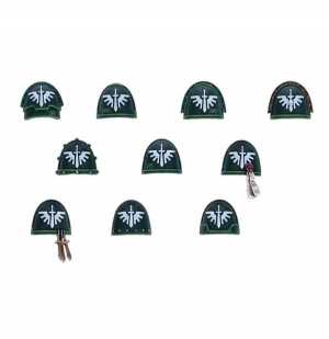 DARK ANGELS UPGRADE PACK SHOULDER PADS