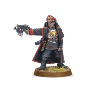 COMMISSAR WITH BOLT PISTOL