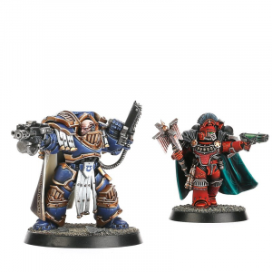 CAPTAIN IN TERMINATOR ARMOUR AND A DARK APOSTLE (BETRAYAL AT CALTH)