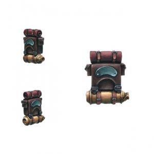 STEAMPUNK INFANTRY BACKPACKS [X10]