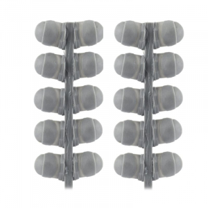 DOUBLE CURVE SHOULDER PADS (12 PAIRS)