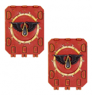 BLOOD ANGELS CHAPTER REPULSOR DOORS