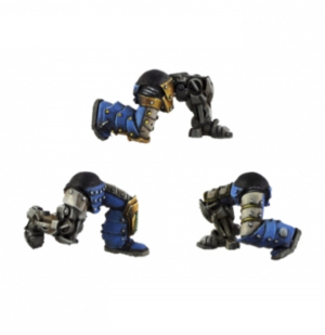 SPACE LEGIONARY BIONIC KNEELING LEGS (6)